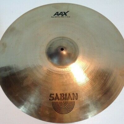 "Sabian AAX X-Plosion 21"" Raw Bell Dry Ride Cymbal - no damage"