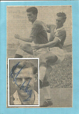 Football Autograph Johnny Watts Birmingham City FC Signed Picture F770
