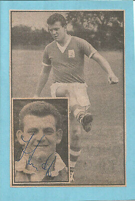Football Autograph Trevor Smith Birmingham City FC Signed Picture F780