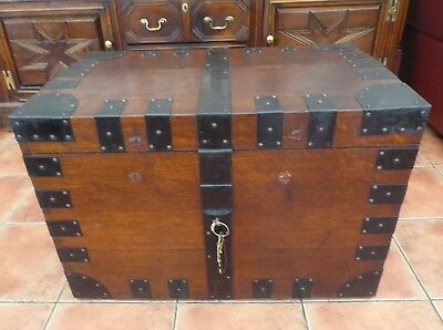 Country Oak Silver Chest Ideal For Coffee Table 1780  Free Shipping To England