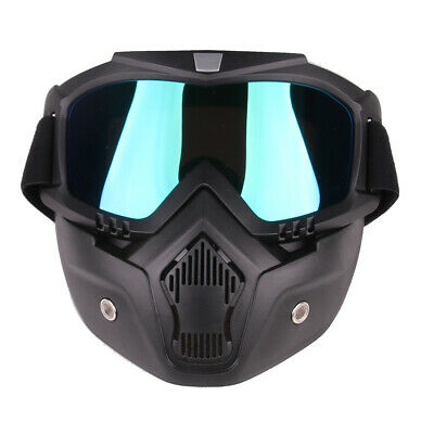 Tactical Mask Goggle Eyeglass Protective Face Mask for Nerf Outdoor Game
