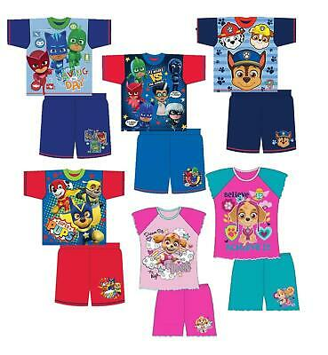 Girls Boys Pyjamas Pjs Sleepwear Short Summer Sleepwear Gift