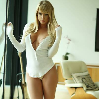 A Sara Jean Underwood Sexy Blonde White Shirt 8x10 Picture Celebrity Print