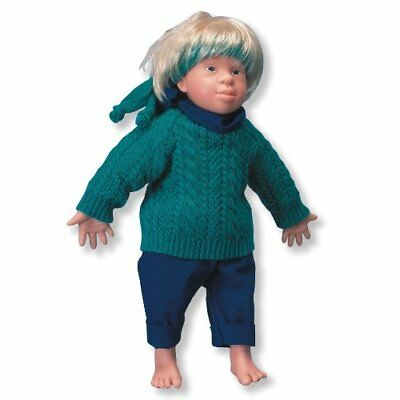 "3B Scientific W11201 ""Tim"" Caucasian Down's Syndrome Male Doll Anatomy 17.7"""