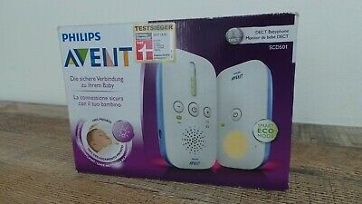 Philips Avent SCD501/00 digital baby monitor with technology DECT light