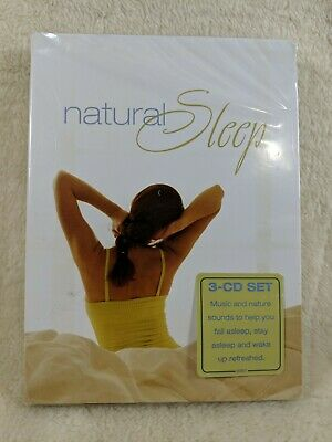 Natural Sleep 3 CD Audio Set Music and Nature Sounds - NEW SEALED