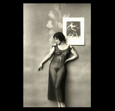 Sexy Prostitute Girl PHOTO New Orleans Brothel Vintage c1900 Red Light District