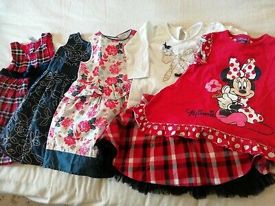 Baby girls clothes bundle 12-18 months party dresses, Minnie Mouse