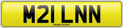 Miln Milne Milns Milnes Number Plate Milner M21 Lnn Car Reg No Added Fees To Pay