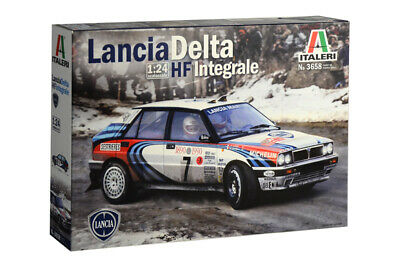 Italeri Model kit Auto - LANCIA DELTA HF INTEGRALE 1:24 - Item 3658