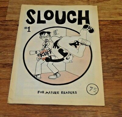 Vintage British Cult Comic - Slouch - Issue 1 Falmouth Cornwall 1993 Wulfthing