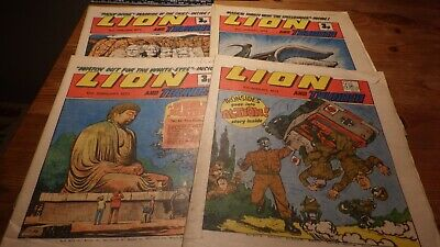 Lion and Thunder comic, 4 issues 1972-73