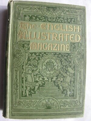 ENGLISH ILLUSTRATED MAGAZINE 1885-86 Wilkie Collins J.M Barrie Newcastle Chester
