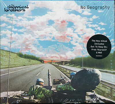 The Chemical Brothers No Geography CD NEW Got To keep On Free Yourself MAH