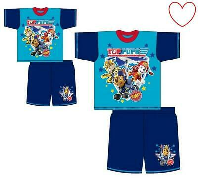 Boys Nightwear Paw Patrol Licensed Character Pyjamas Set