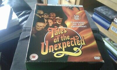 The Tales Of The Unexpected - The Complete Series (DVD, 2008, 19-Disc Set,...