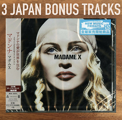 "3x JAPAN BONUS TRACKS + CD WITH OBI SENT FROM BERLIN! MADONNA ""MADAME X"" 2019"