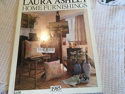 1985 Laura Ashley Home Furnishings Catalog 135 Pages