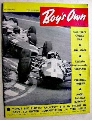 BOY'S OWN PAPER Oct 1965Jim Standen, Mick Jagger, Sub-Plane, Jacques Anquetil
