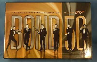 Blu-Ray! - Celebrating Bond 50 - 23-Disc Boxed Set + Bonus Never Say Never Again