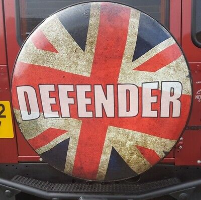 Land Rover Defender Spare Wheel Cover 235 / 85 X16