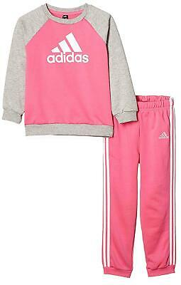 Adidas I Logo Jogg Ft Girl's Pink Outfit Dv1288