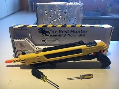 Refurbished By Bug-A-Salt Technicians Yellow 2.0 Insect Eradication Salt Gun