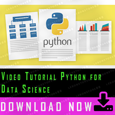 Video Tutorial Python for Data Science