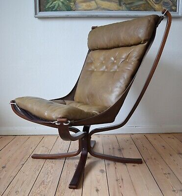 Mid-Century Falcon Chair by Sigurd Ressel for Vatne Møbler, 1970s