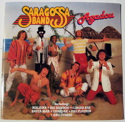 Saragossa Band ‎– Agadou GERMANY 1992 CD COMPILATION