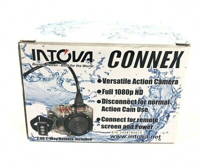 Intova Connex HD Waterproof/Shockproof Video Action Camera Camcorder & VGA Cable