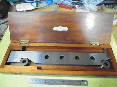 250mm Sine Bar made by Pitter Gauge and Tool Co