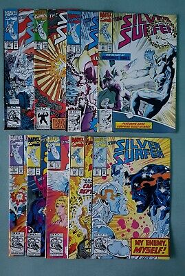 Silver Surfer Vol 3 1991 issues 60 to 67 & 72 Marvel Comics