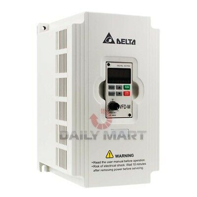 New In Box Delta VFD015M21A Frequency Converter 1.5KW 230V