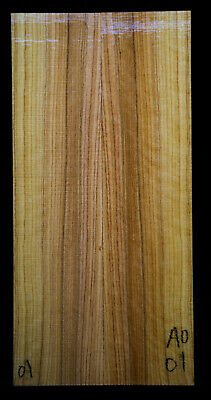 """African Wild Olive #01 Knife Scales 7.3""""x1.75""""x 3/8"""""""