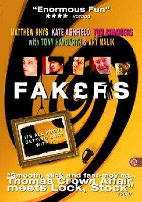 Fakers [2004] (DVD) Matthew Rhys, Kate Ashfield, Tom Chambers, Tony Haygarth