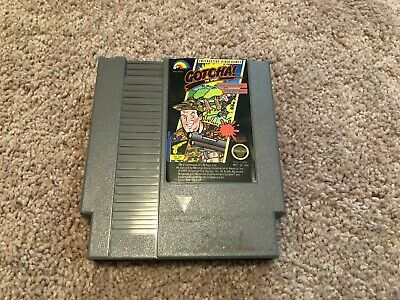 Gotcha The Sport (Nintendo Entertainment System, NES, 1987) - Cart Only