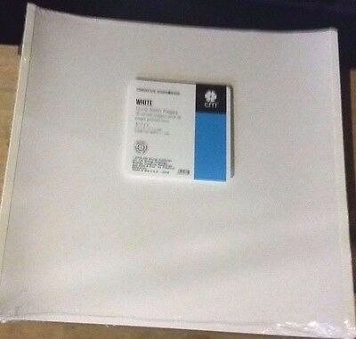 Creative Memories 12 x 12 Pages White Refill Pages True size 2 packs