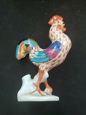 Herend Figurine Small Standing Rooster Ships in 24 hours!