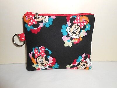 Mickey Mouse Inspired Coin bag//gift card holder Handmade Handbag Accessories #TY