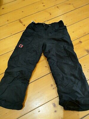Kids Size 6 Ski Pants (Black)