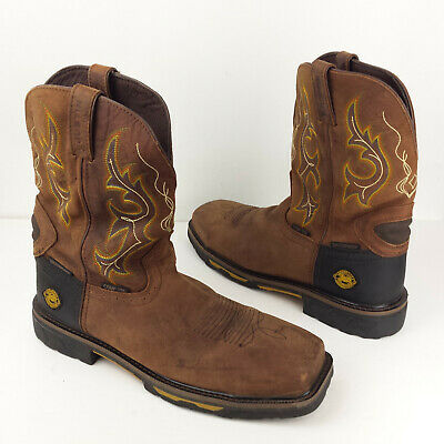 85b81a47527 MEN'S JUSTIN HYBRED wk4625 Waterproof Comp Toe Work Boots 12 D