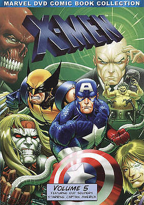 X-Men: Volume Five [Marvel DVD Comic Book Collection]