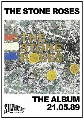 A3 A4 Size - The Stone Roses 1989 Wall Poster