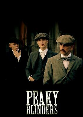 A3 A4 Size - Peaky Blinders Tv Wall Poster