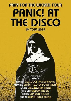 A3 A4 Size - Panic at the Disco Wall Poster