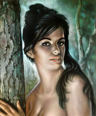 A3 A4 Size - Tina by J H Lynch from the Tretchikoff Era Wall Poster