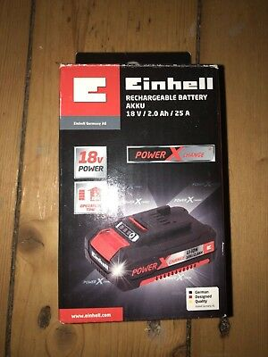 EINHELL Power X-Change 18V 2,0 Ah Battery Akku Li-Ion