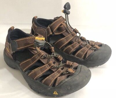 e69a35b629bb Keen Kids Youth Outdoor Water Hiking Shoes Sandals Size 1 Brown Waterproof
