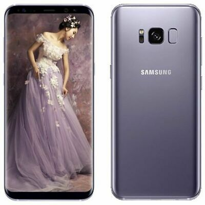NEW UNLOCKED Samsung Galaxy S8 SM-G950U 64GB Orchid Gray T-MOBILE AT&T Verizon